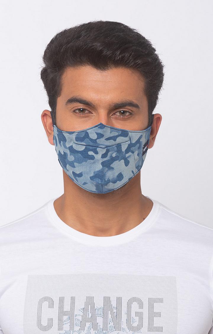 Spykar | Spykar Denim Face Mask
