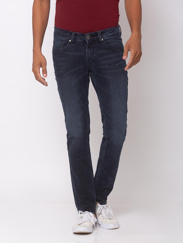 Spykar   spykar Cotton Blue Jeans