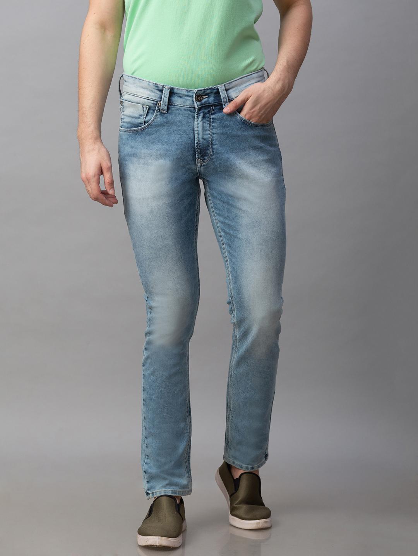 Spykar | Spykar Blue Cotton Low Rise Super Skinny Fit Jeans (Super Skinny)