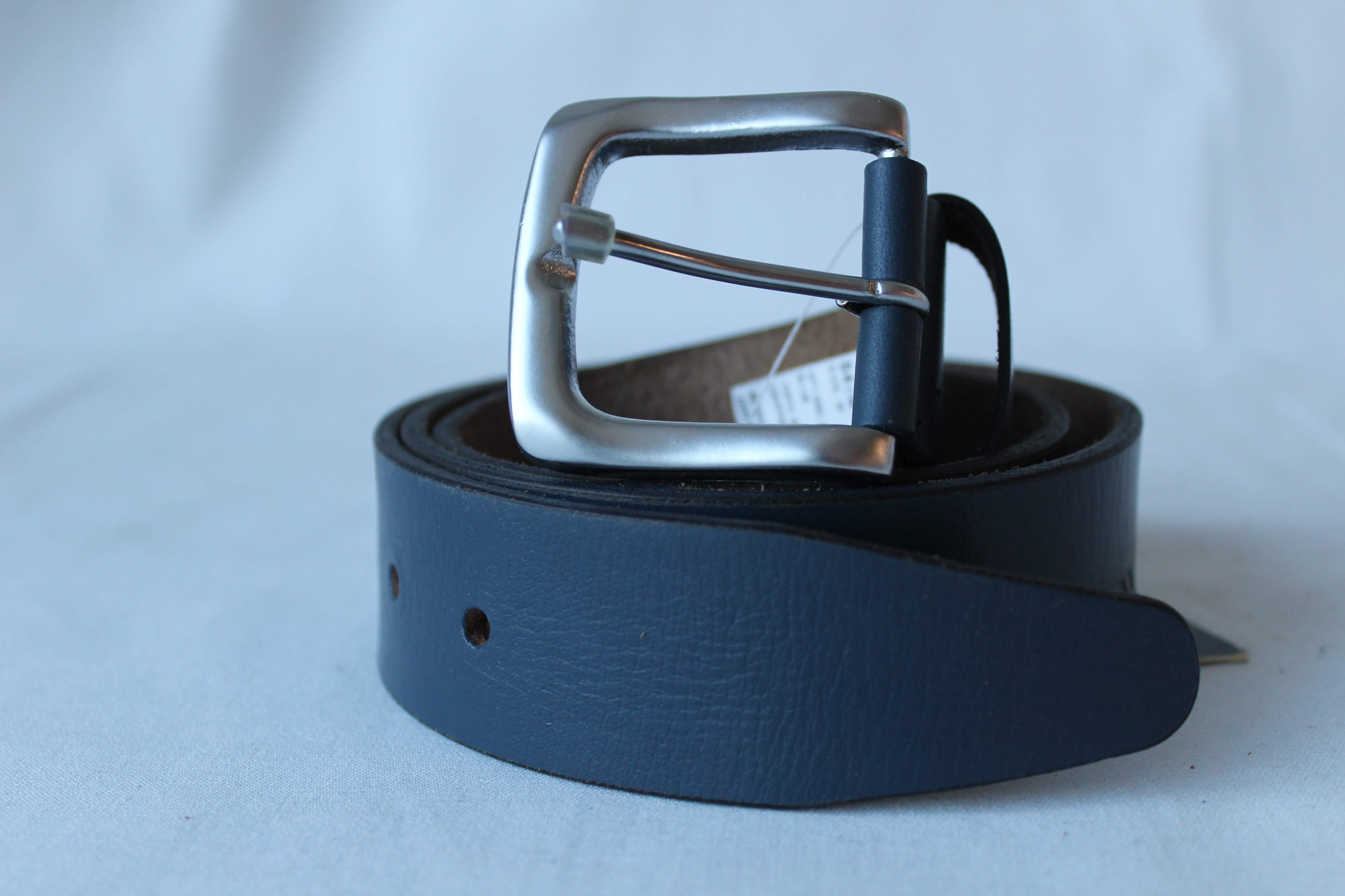 Spykar | Spykar Blue Leather Belts