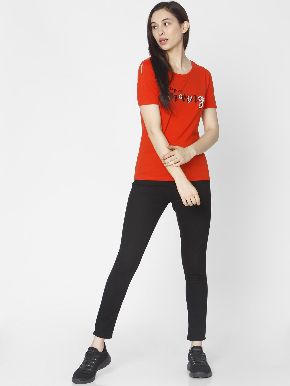 Spykar | Spykar Black Cotton Women Jeans (ALEXA)