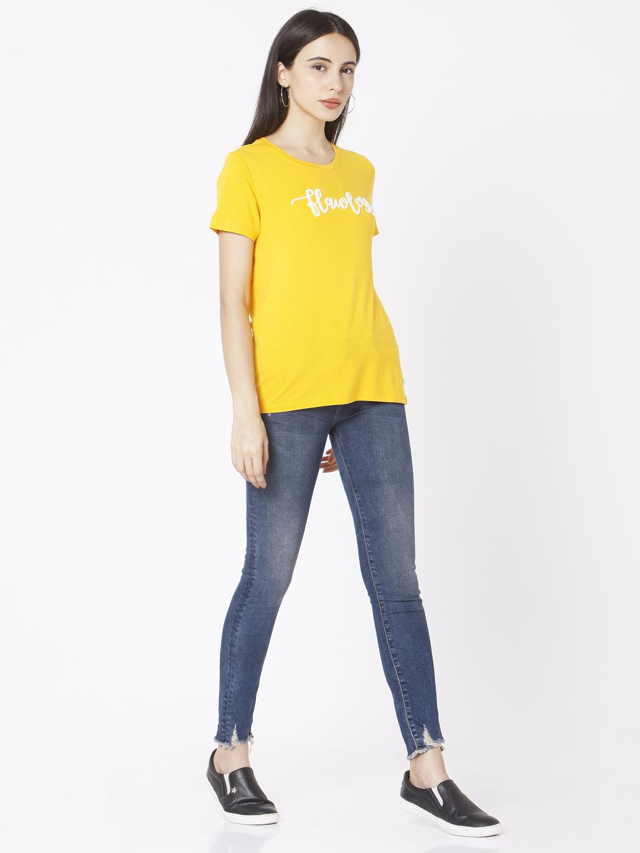 Spykar | Spykar Blue Cotton Women Jeans (Alicia)