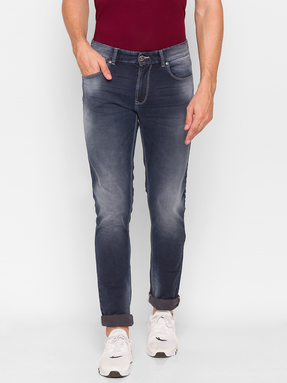 Spykar   Spykar Grey Cotton Men Jeans (ROVER)