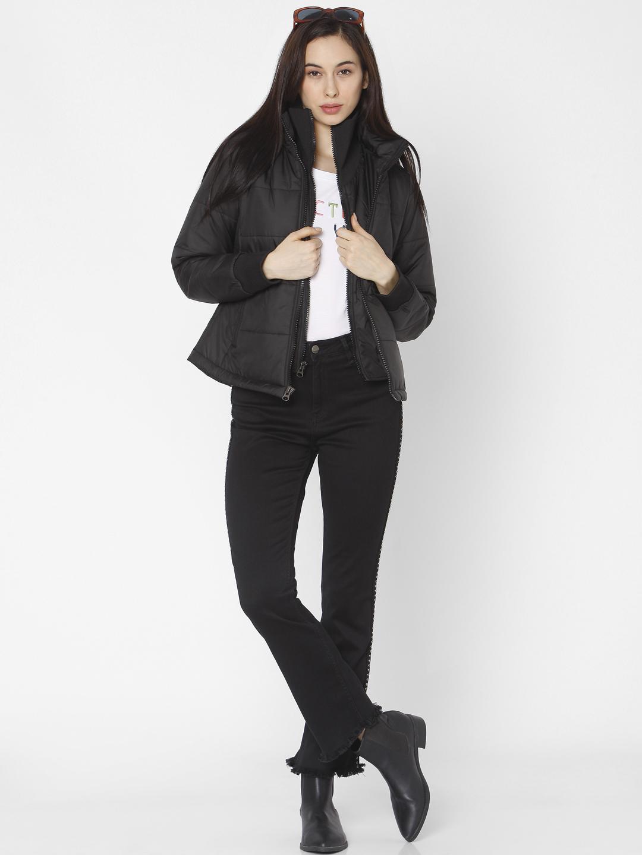 Spykar   Spykar Black Polyester Women Jacket