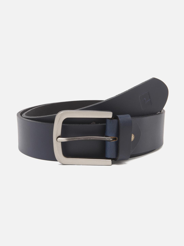 Spykar | Spykar Navy Blue Leather Belt