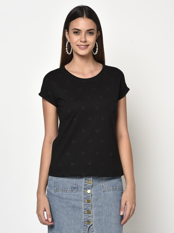 METTLE   Women BLACK T-Shirts