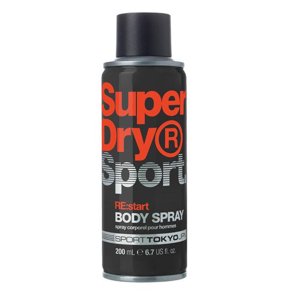 Superdry | Black Superdry  Sport Re Start