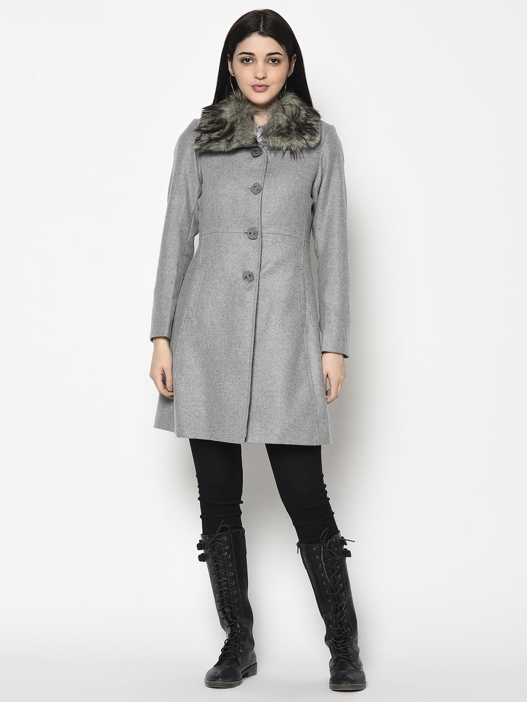METTLE | Women GREY Coat