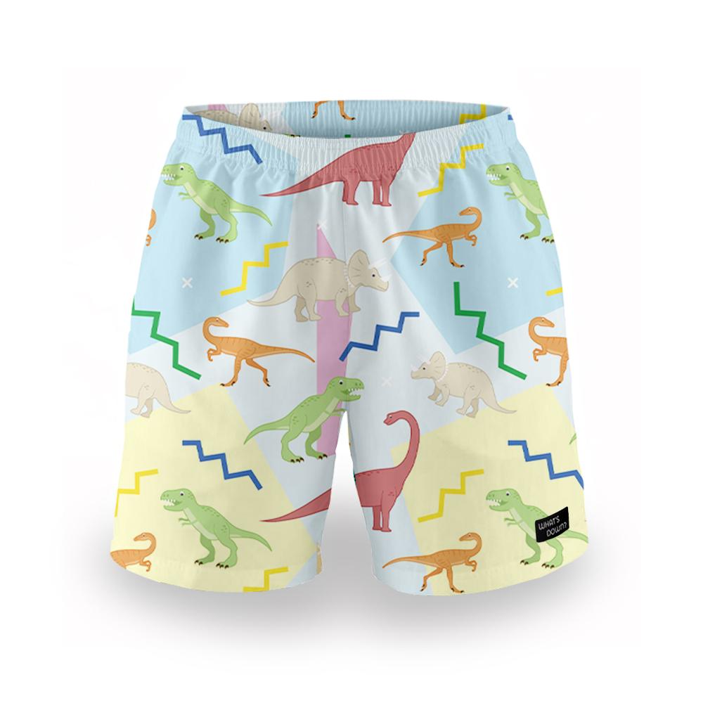 Whats Down | Multicolour Dino Mens Boxers
