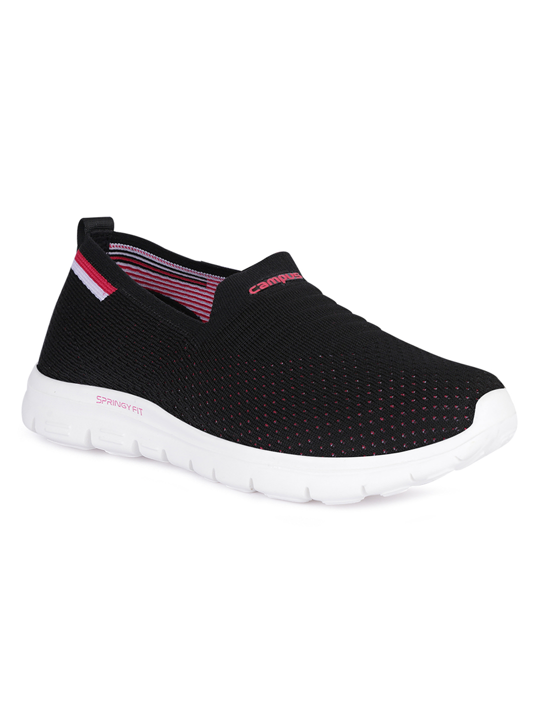 Campus Shoes | Black Melody Running Shoes