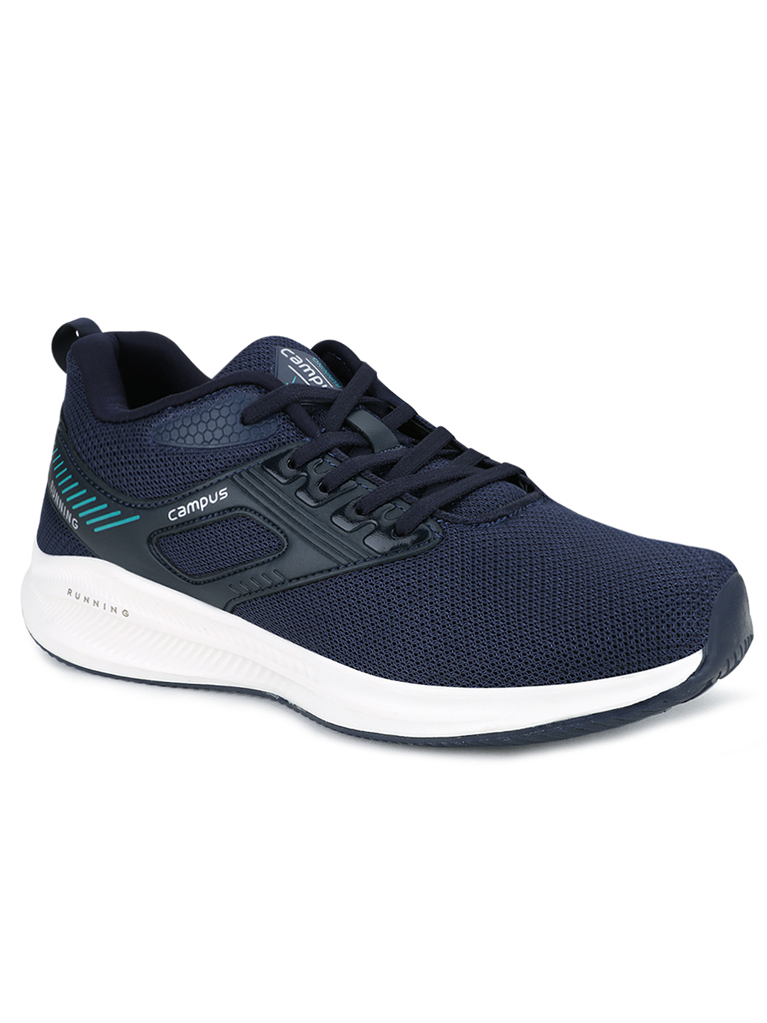 Campus Shoes | Navy Davis Running Shoes