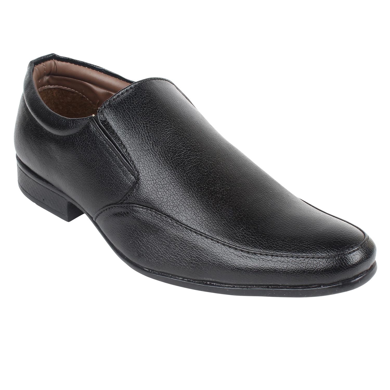 Guava | Guava Moccasin Formal Shoes - Black