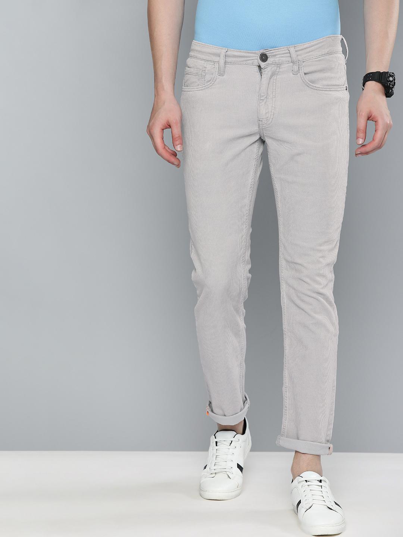 American Bull | American Bull Men Cotton Casual Slim Fit Grey Jeans