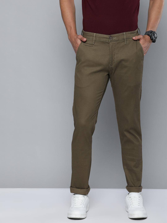 American Bull   American Bull Men's Casual Brown Trouser