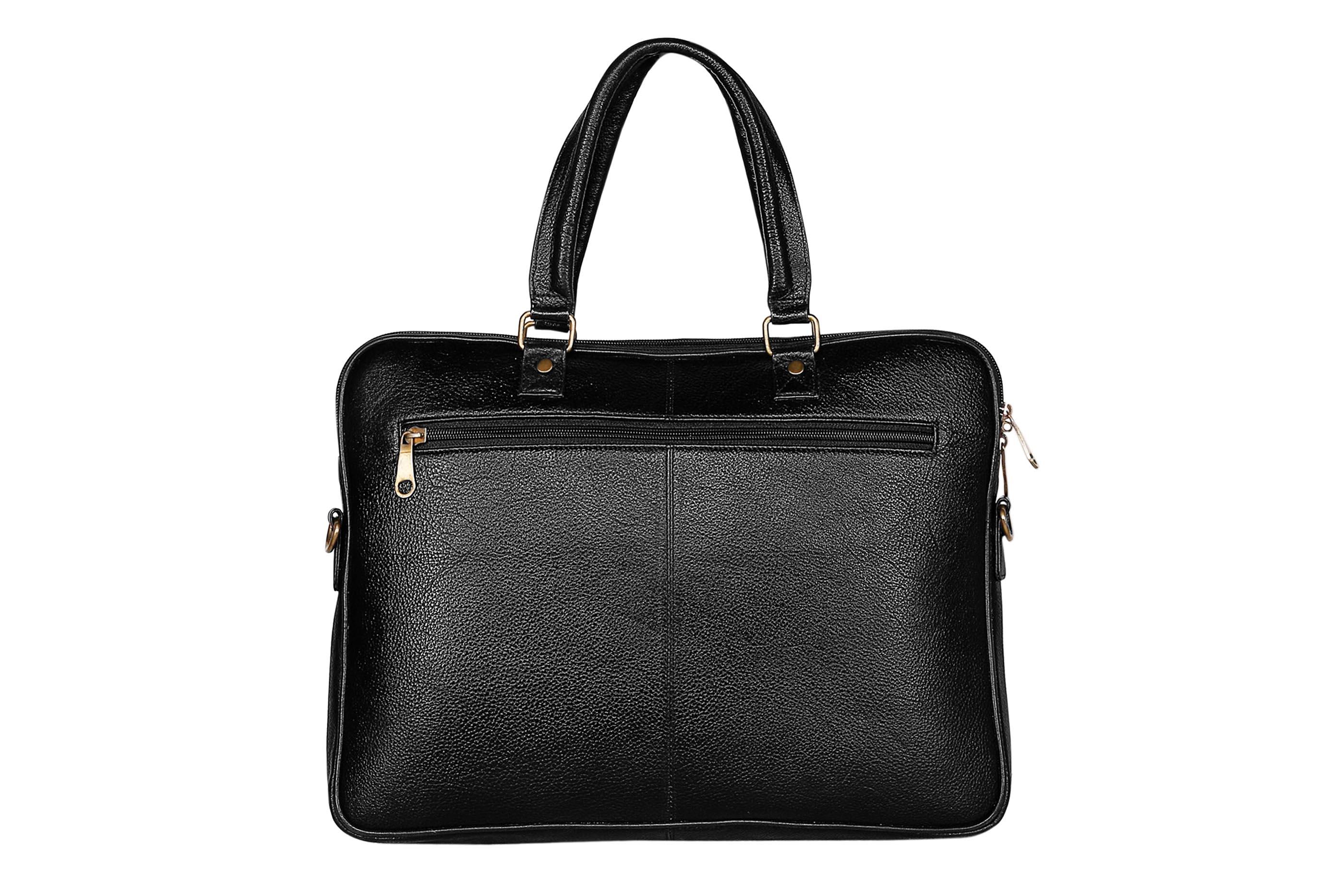 "SCHARF   SCHARF Danyon 15.6"" Leather Laptop-MacBook Travel Shoulder Sleeve Crossbody Messenger Briefcase Bags."