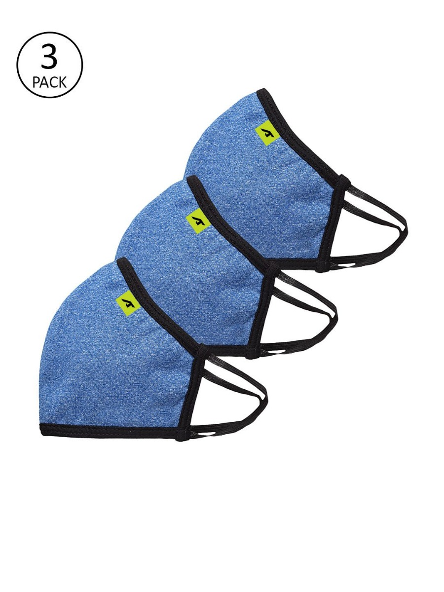 ALCIS   ALCIS UNISEX WELLNESS Pack of 3 ULTRASHIELD A95 Reusable 6-Layer Masks