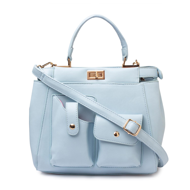 globus | Globus Ice Blue Hand Bag