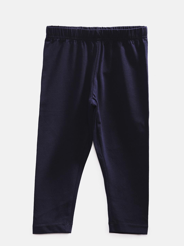 Ethnicity | Ethnicity Ankel Length Fashion Kids Navy Knit Legging