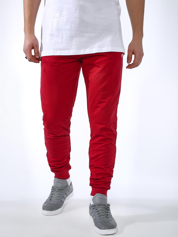 Blue Saint | Blue Saint Men's Red Slim Fit Joggers