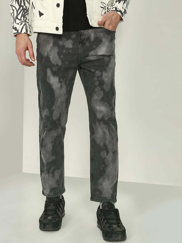 Blue Saint | Blue Saint Men's Grey Loose Fit Jeans