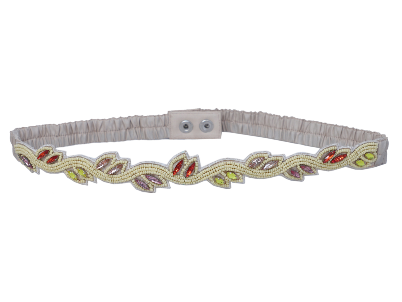DIWAAH   Diwaah Multi Color Casual Embellished Belt