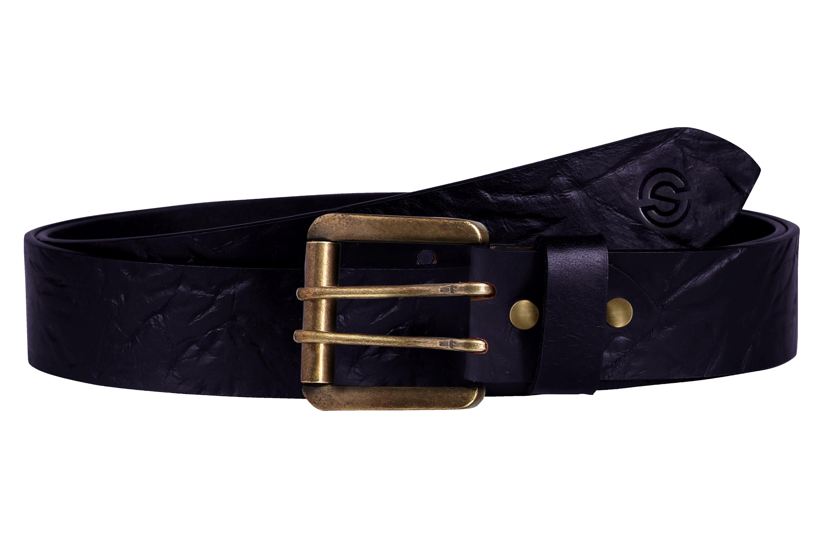 SCHARF | SCHARF Casual Leather Men's Belt Purple