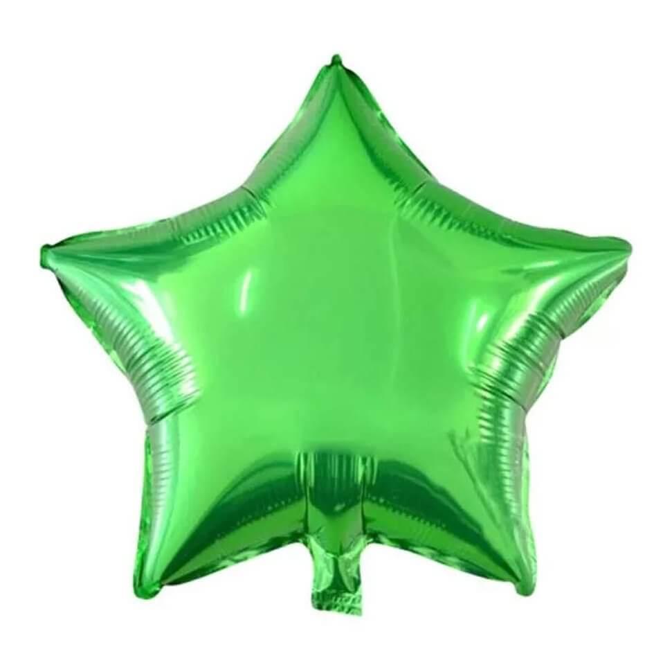 Blooms Mall | Blooms Mall twinkling star shape foil Balloon ( Green)