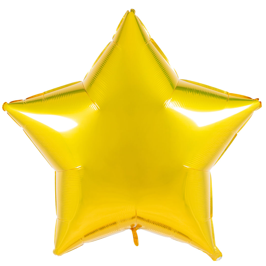 Blooms Mall | Blooms Mall Twinkling star shape foil Balloon ( Yellow )