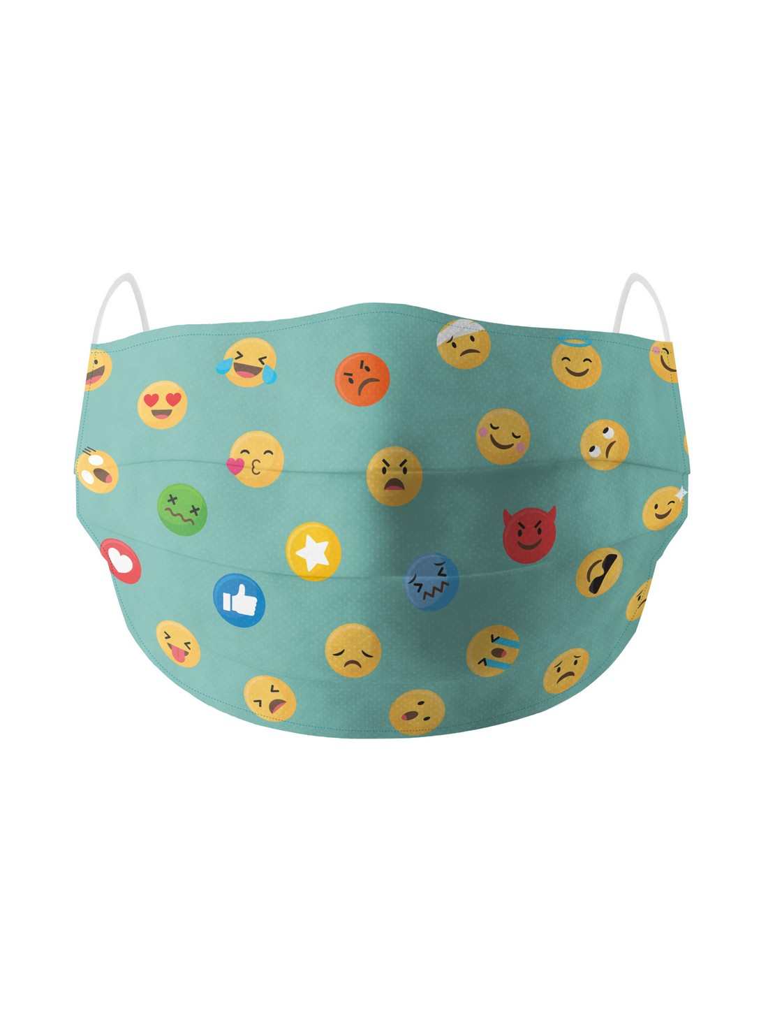 Soxytoes | Soxytoes Blue Stylish Protective Washable Mouth Cover Face Mask