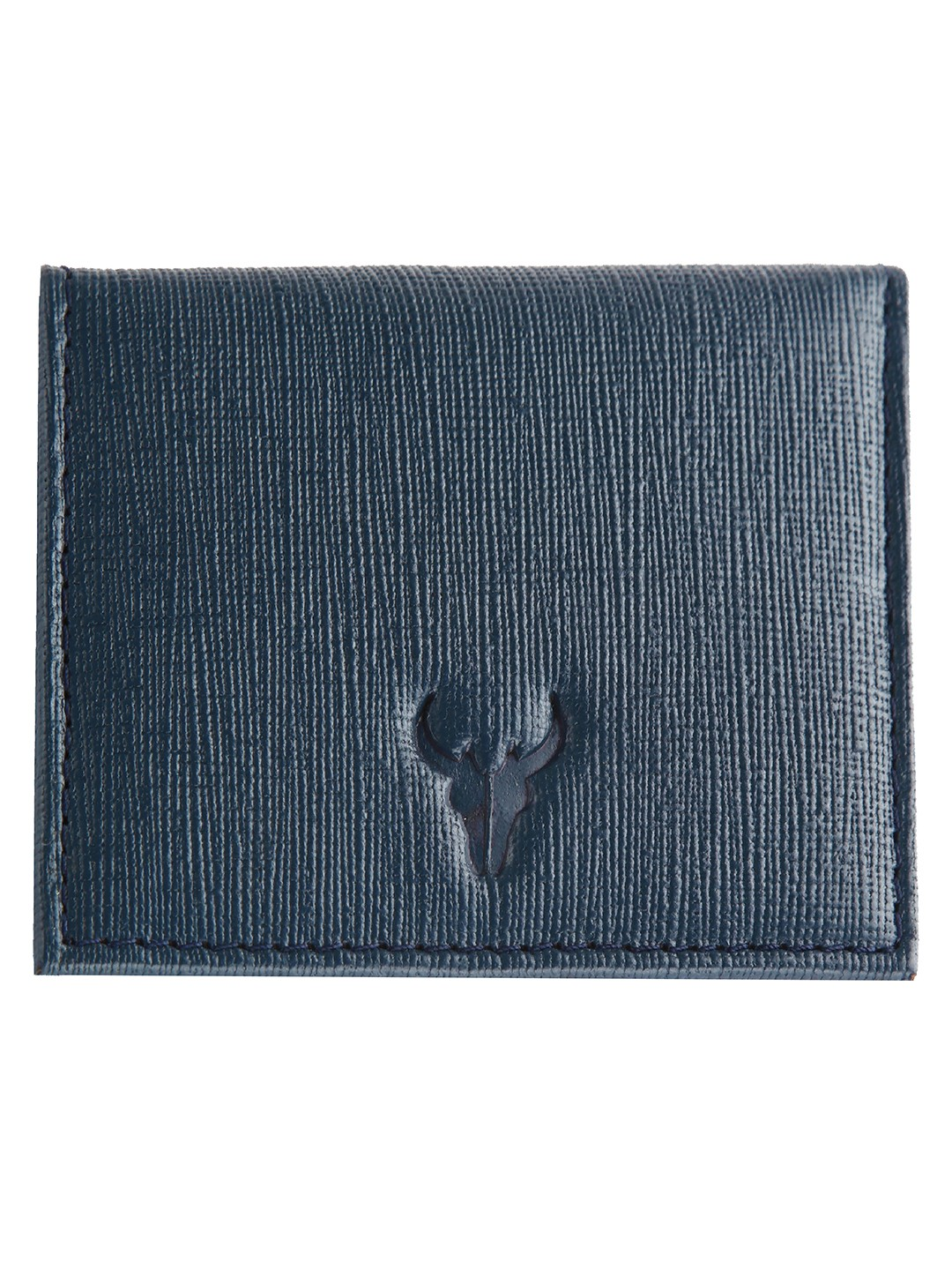 Napa Hide | Napa Hide RFID Protected Genuine High Quality Leather Blue Safiano Wallet for Men