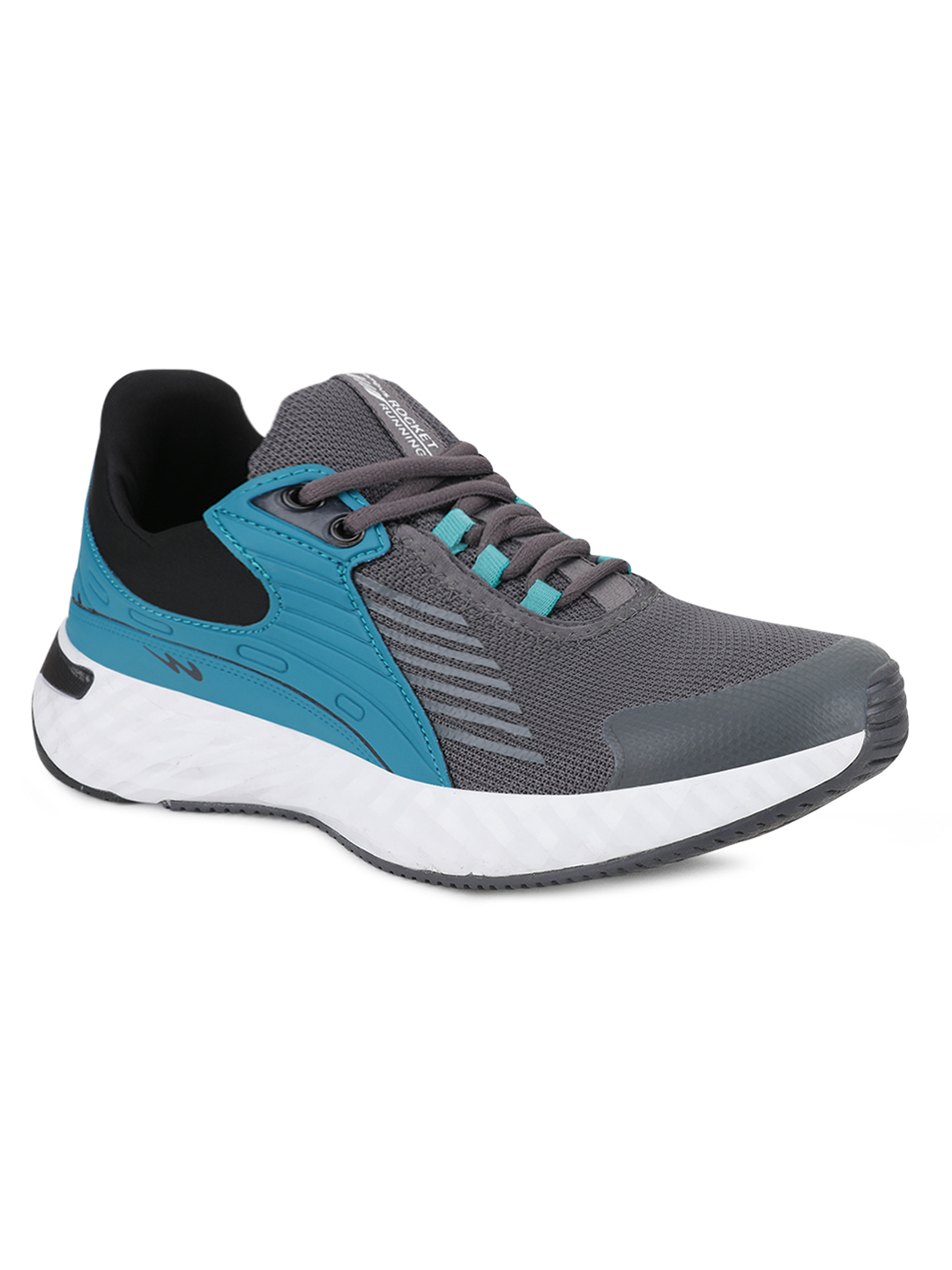 Campus Shoes | Grey Rocket Running Shoes