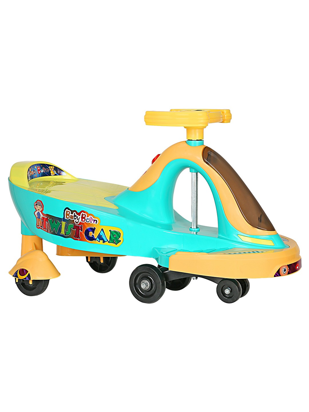 CREATURE | Creature Blue Twist Ride Ride-On Cars Toy Vehicle for Kids