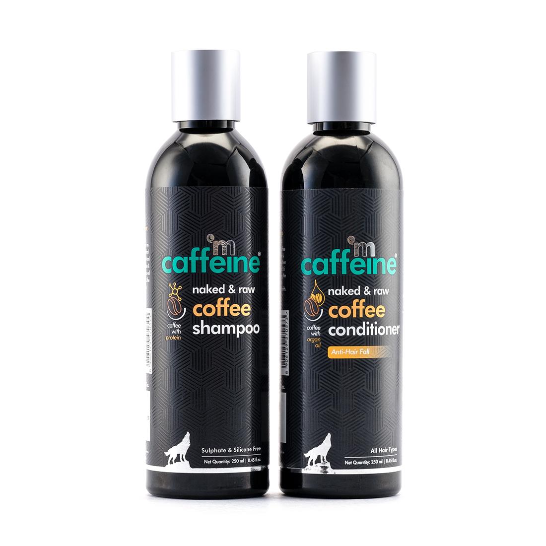 MCaffeine | mCaffeine Coffee Shampoo & Conditioner Duo - Hair Fall Control | shampoo , Conditioner