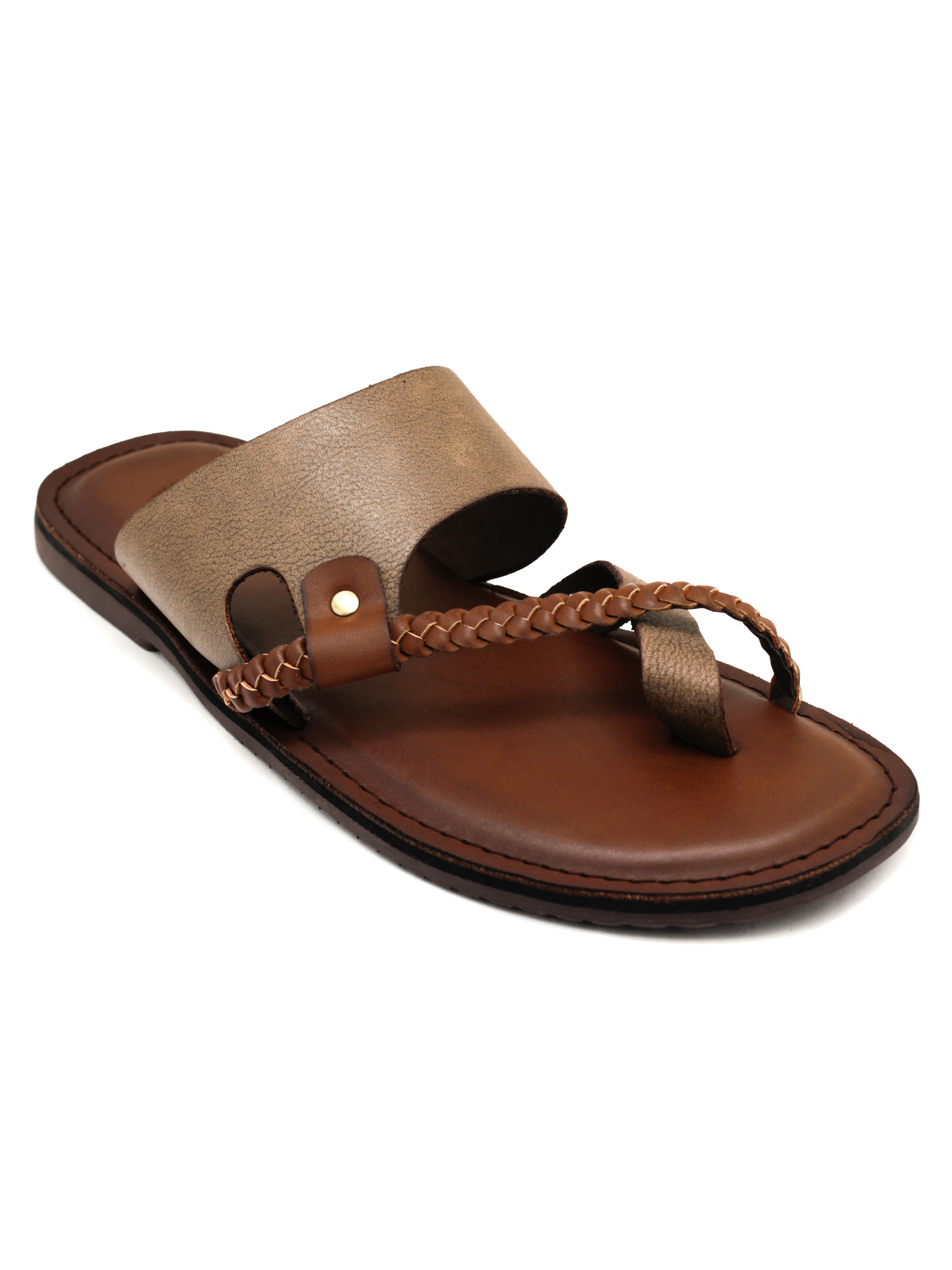Trends & Trades | Mens Brown Sandals