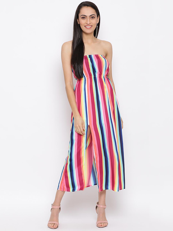 DRAAX fashions | DRAAX FASHIONS Women multi printed floral tube dress