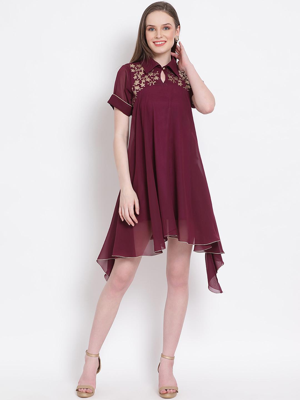 DRAAX fashions | DRAAX FASHIONS Women Flare dress