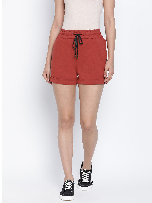 DRAAX fashions | DRAAX FASHIONS Women brown shorts hot pant