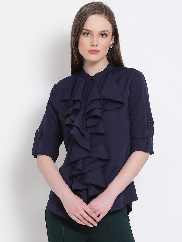 DRAAX fashions   DRAAX FASHIONS Women Ruffle Top