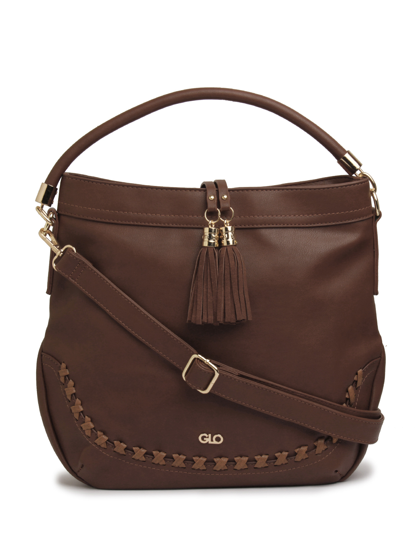 globus | Globus dark brown Hobo Bag