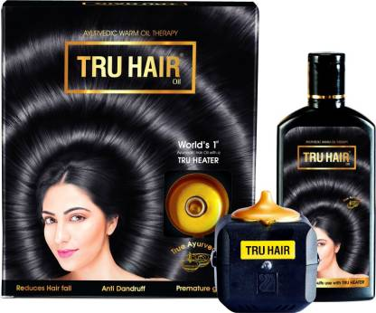 TRU HAIR | TRU HAIR with TRU HEATER AYURVEDIC Hair Oil  (110 ml)