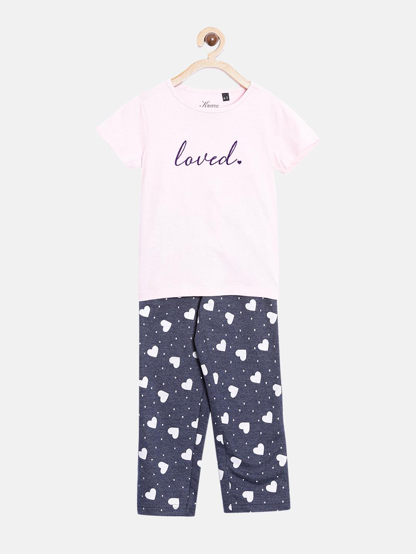 Kryptic | Kryptic kids 100% Cotton printed nightsuit