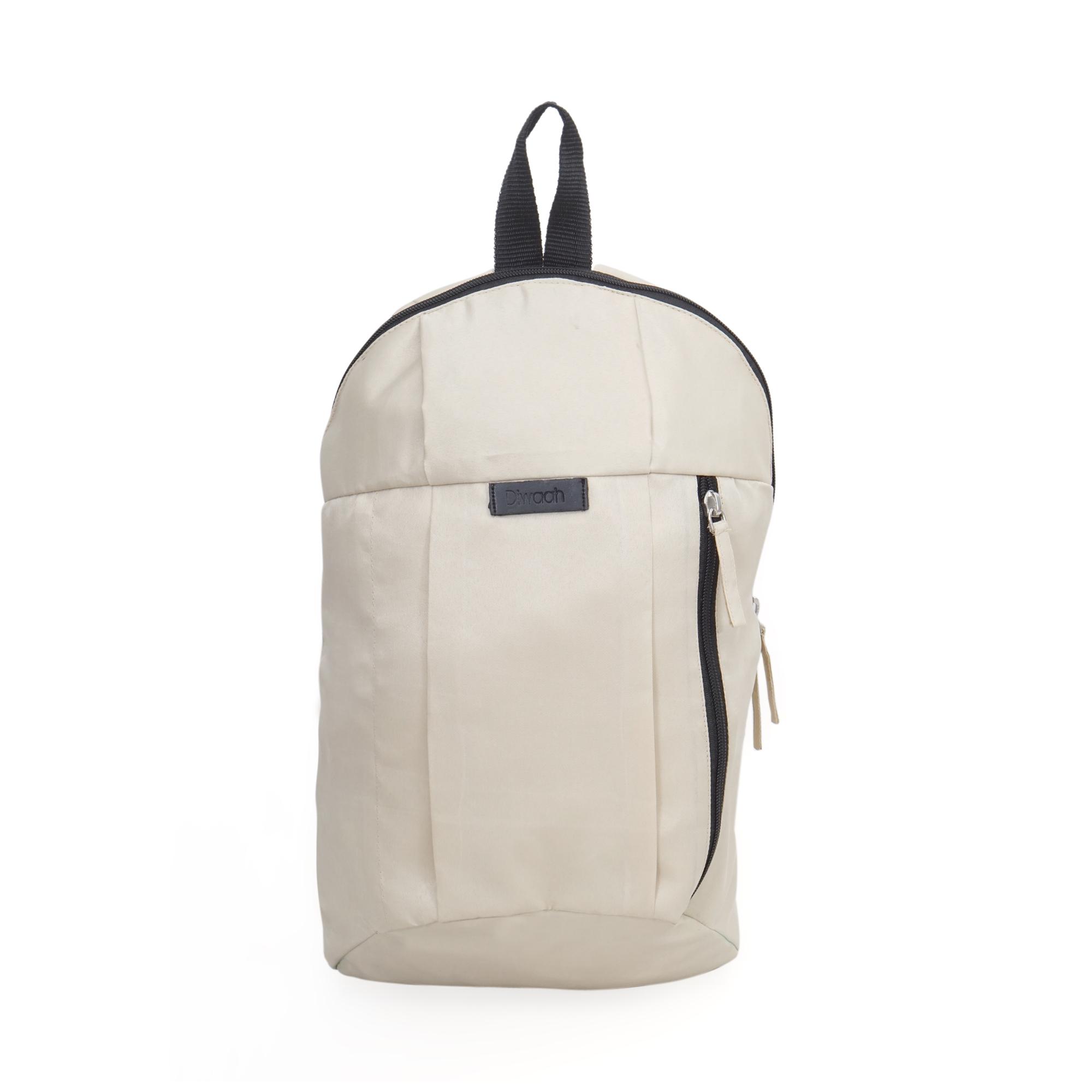 DIWAAH   Diwaah White Color Casual Backpack