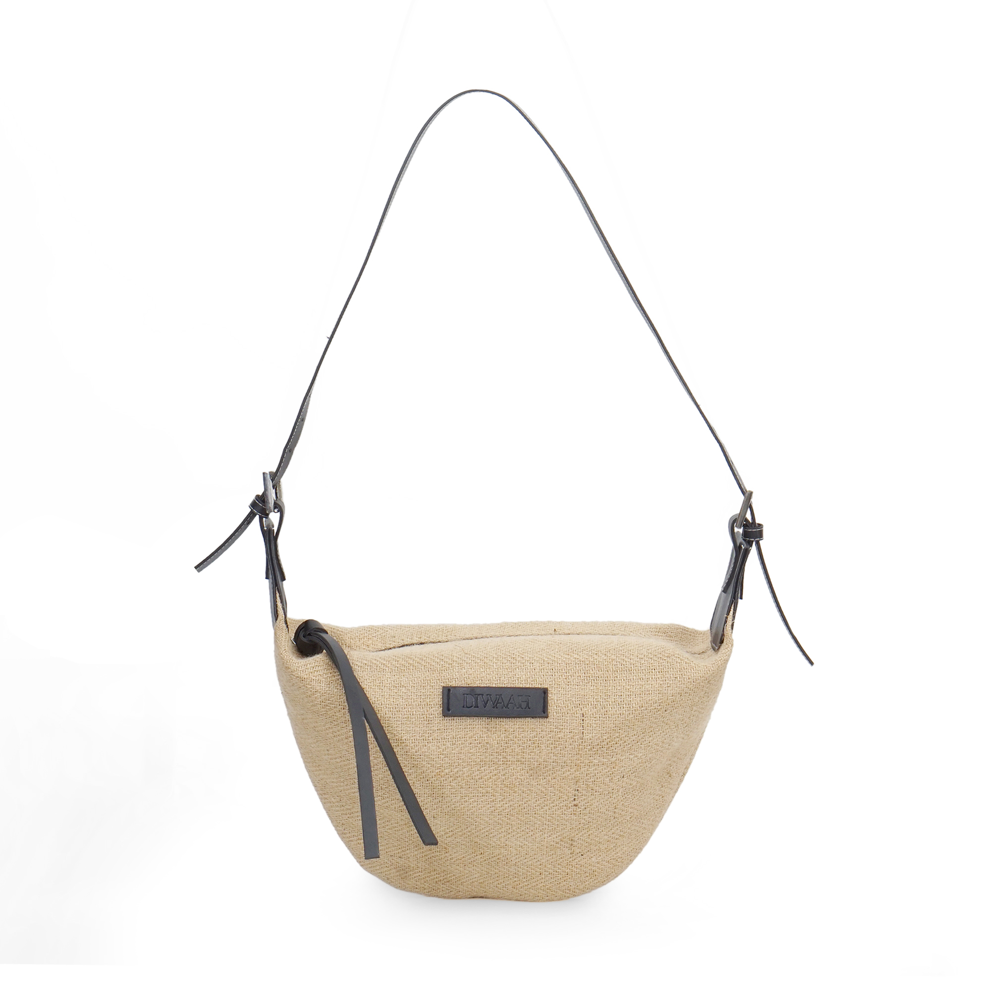 DIWAAH | Diwaah Beige Color Casual Sling Bag