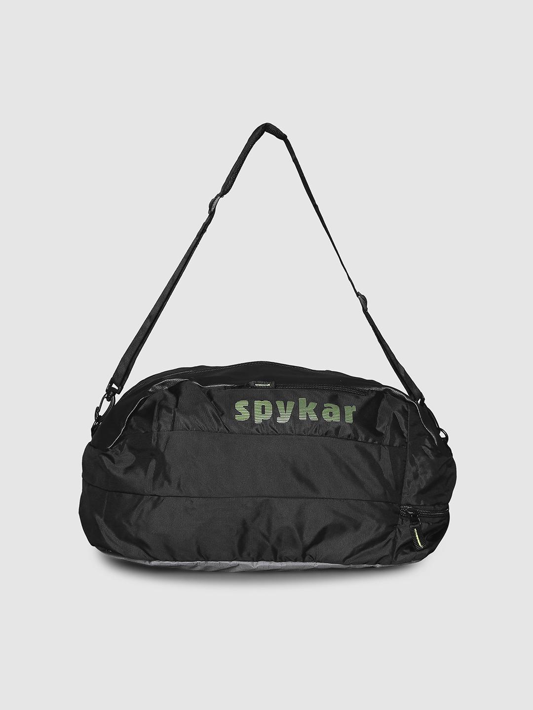 Spykar   Spykar Black Duffle/Gym Bag