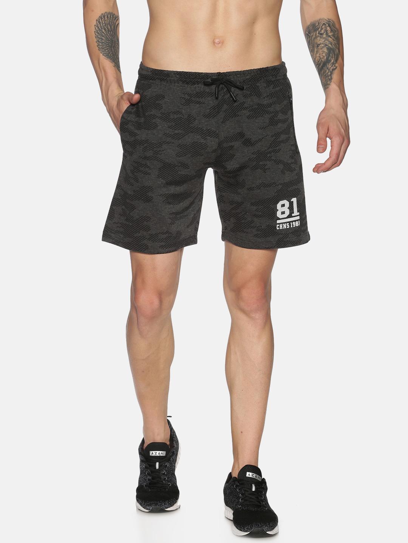 Chennis | Chennis Mens Slim Fit BLACK Shorts