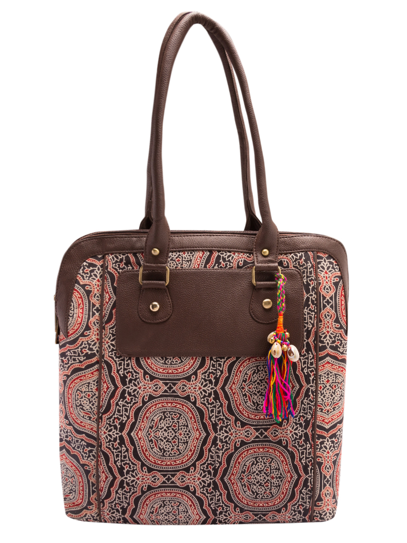 Vivinkaa | Vivinkaa Printed Ethnic Tote Bag
