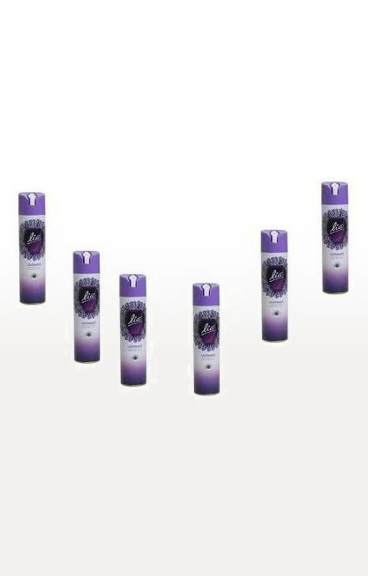 Lia Room & Car Freshener | Lia Room Freshner LAVENDER Spray (6*160g)