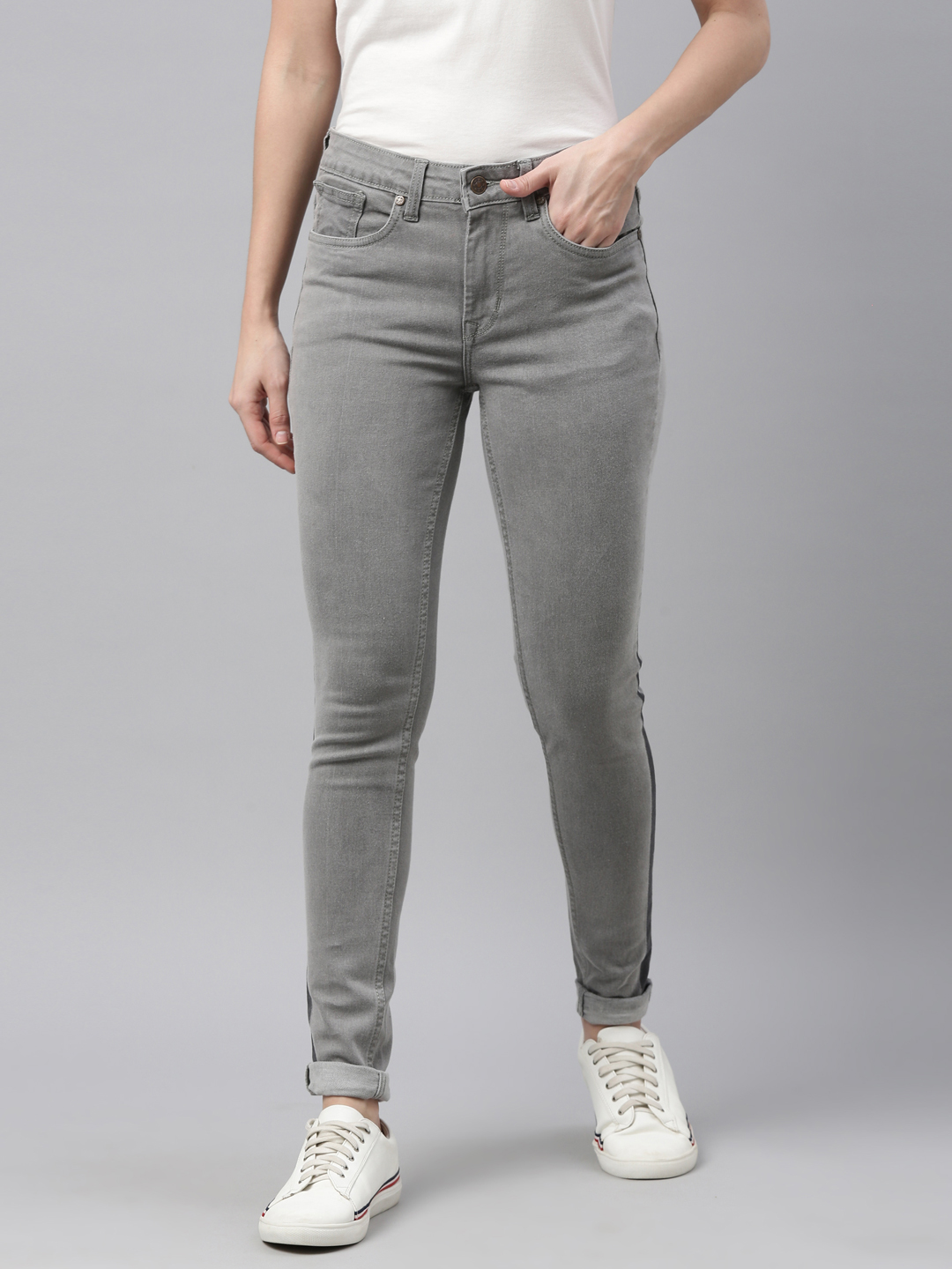 Enviously Young | Enviously Young Women's Grey Jeans