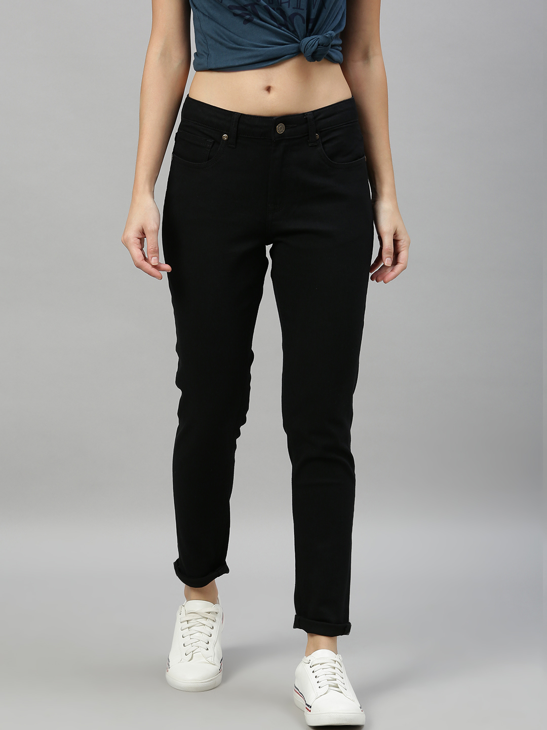 Enviously Young | Enviously Young Mid Rise Black Jeans
