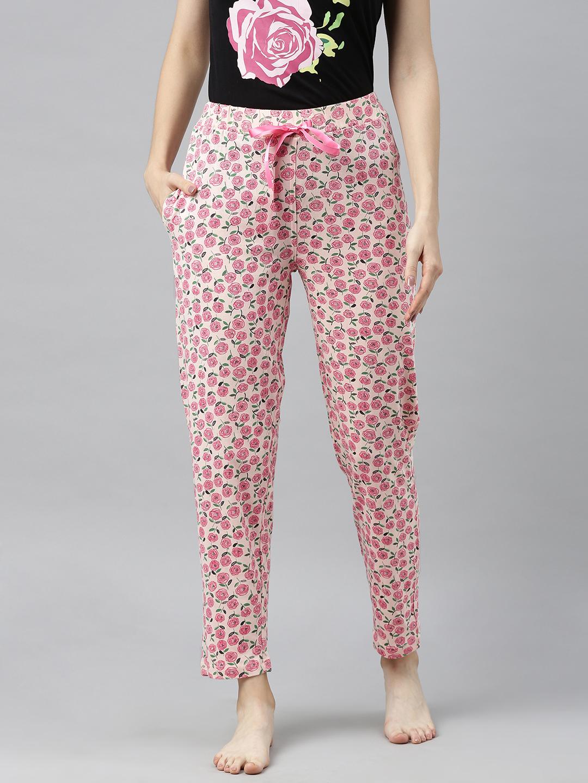 Enviously Young   Enviously Young Light Pink Printed Pyjama